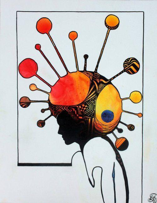 """""""Afro"""" by Evan Rosato"""