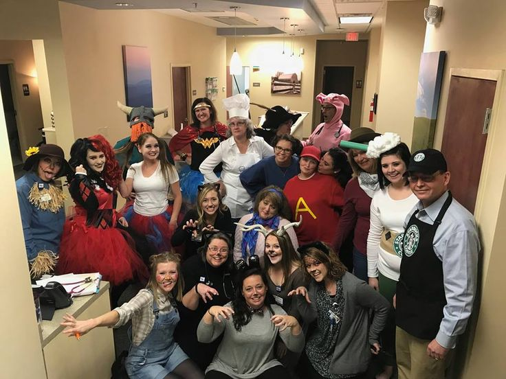 "The providers and staff at Appalachian Regional Internal Medicine Specialists had some ""not-so-spooky"" fun in the office! See if you recognize your provider in this bunch!"