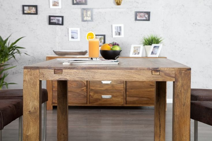 20976 STÓŁ LAGOS drewniany rozkładany 120-200 cm invicta-interior-sheesham palisander planeta design nowoczesne i designerskie stoly - Planeta Design MEBLE DEKORACJE DESIGNERSKIE NOWOCZESNE wysyłka w 48h