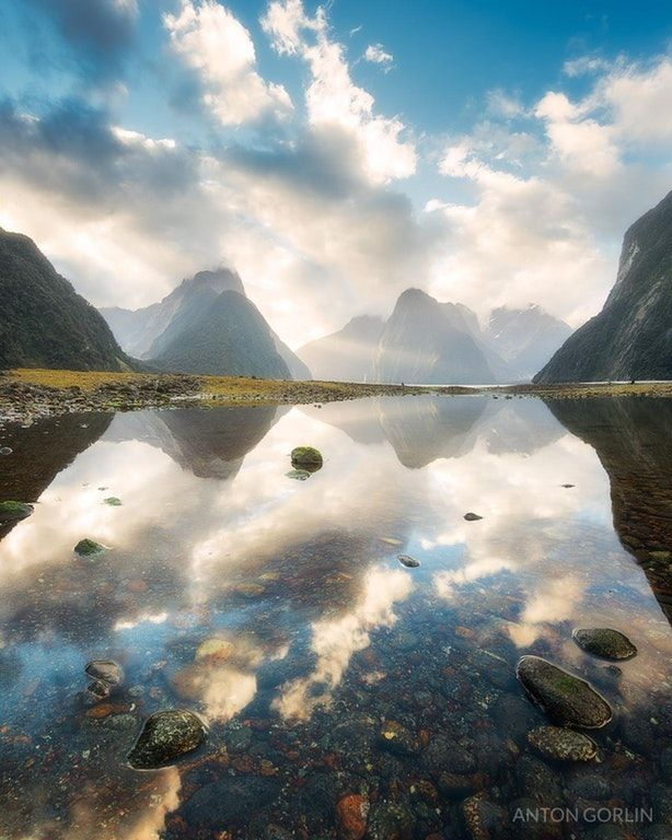 8th Wonder of the World - Milford Sound vertical panorama [OC] [1280x1600] @antongorlin : EarthPorn