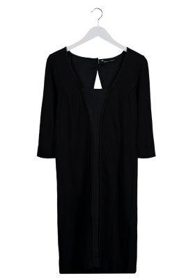 Sukienka z dżerseju - czarny