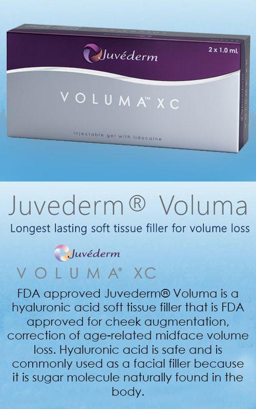FDA approved Juvederm® Voluma is a hyaluronic acid soft