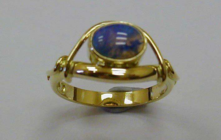 Makers Lane :: Opal Ring Custom Made, Bespoke jewellery  made in Australia.