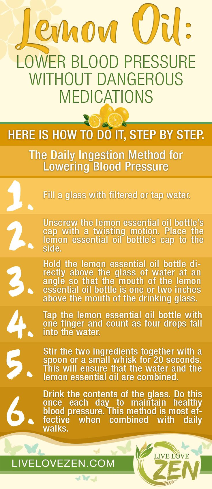 Lemon Oil: Lower Blood Pressure without Dangerous Medications