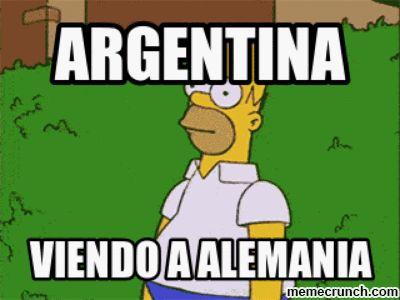 Meme Argentina vs Alemania