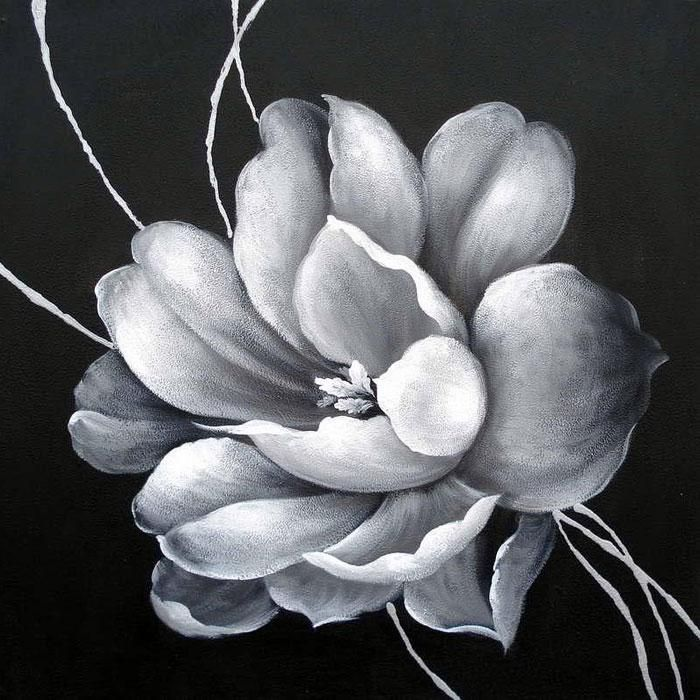 Best Painting Images On Pinterest Canvas Wall Art - Black canvas painting ideas