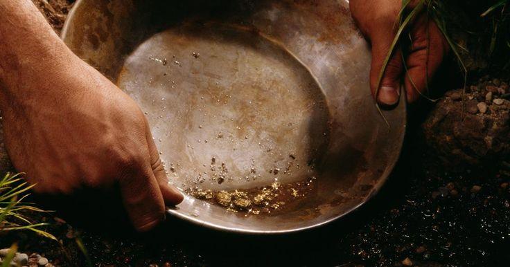 Como encontrar veias de ouro em formações rochosas
