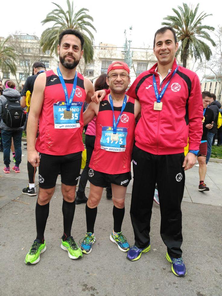 Este fin de semana C.D. Navalmaratón participó en la eDreams Mitjá Marató de Barcelona y en la XXXIII Media Maratón Fuencarral - El Pardo.