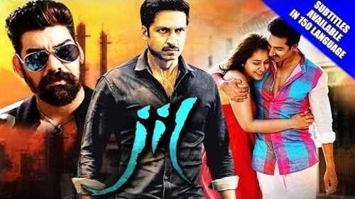 Jil 2016 Hindi Dubbed 350MB HDRip 480p Downnload Free Movie