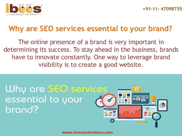 Why are SEO services essential to your brand? To stay ahead in the business, brands have to innovate constantly you need a SEO Company in India.