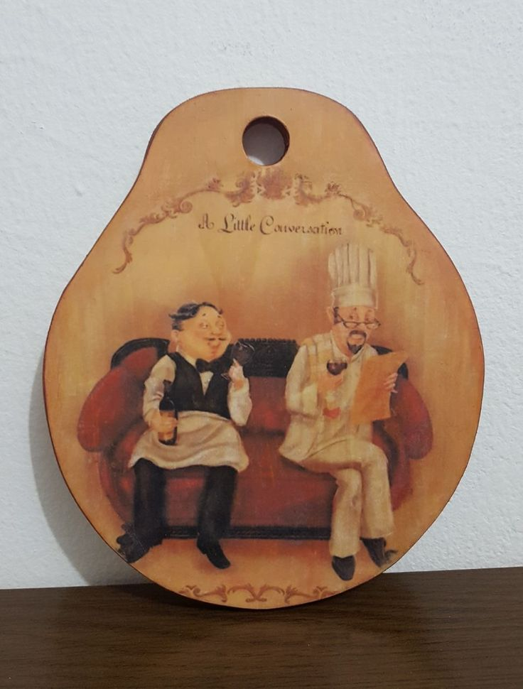 Image of chefs that I image transfered to cutting wood