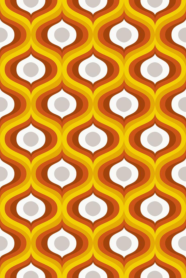 Orange gold taupe
