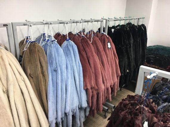 Mink pelts/skins in diffirent colors by skffurs on Etsy