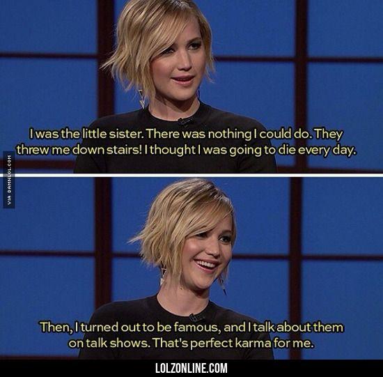 Jennifer Lawrence At It Again.#funny #lol #lolzonline