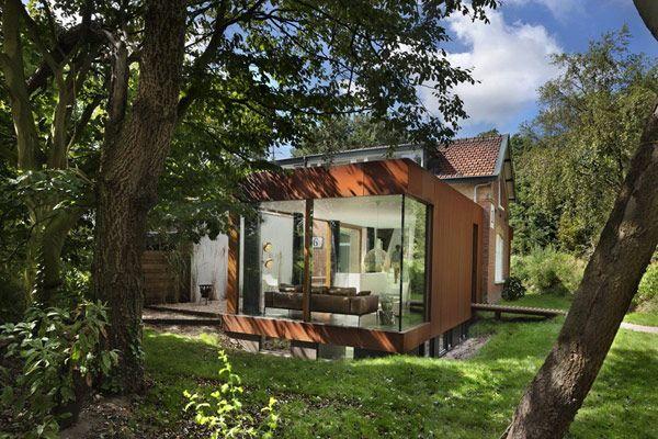 Modern Upgrade for an Impressive Historic Railway CottageModern House Design, Railway Cottages, Railings House, Railway House, Santpoort Railings, Living Room, Historical Railway, House Santpoort, Zecc Architects