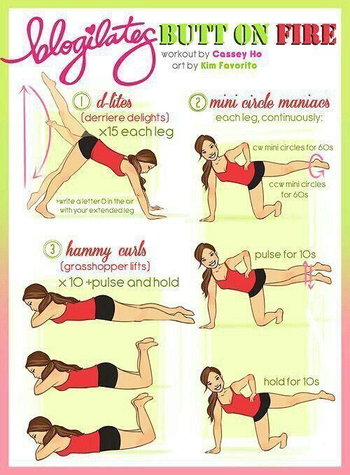 Butt workout :-)
