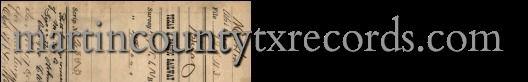 Martin County Records   Martin County, Texas Online Records