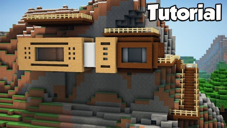 Minecraft House Decoration Ideas Elegant Minecraft How To Build A Modern Mountain House Tut U2026 In