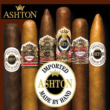 Mike's Cigars offers a wide selection of Ashton cigars and samplers. The company also offers great range of humidors, lighters and other accessories at very low price. Same day free shipping. Call to order 800-962-4427