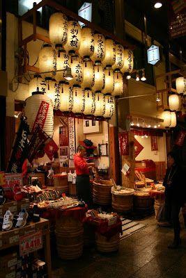 Japon: Kyôto itinéraires : le marché de Nishiki