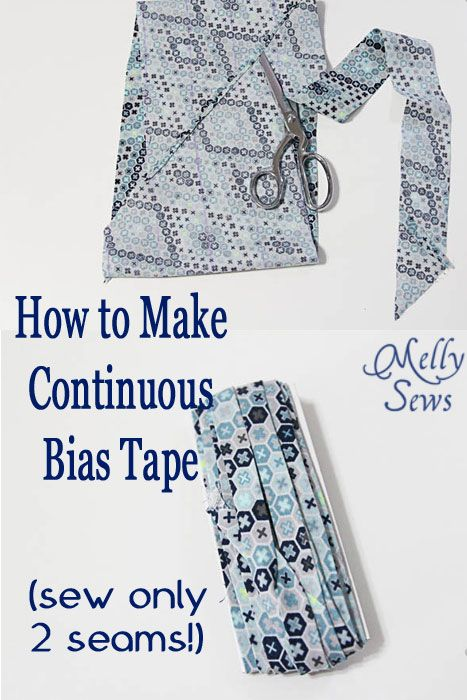 Coastal Cargos Sewalong Day 3 – Continuous Bias Tape Tutorial