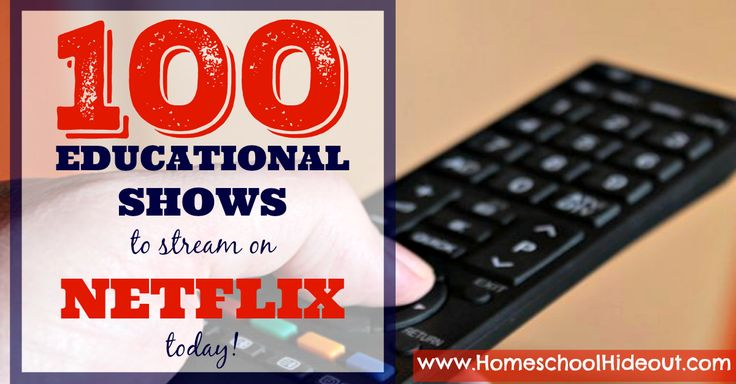 You don't want to miss this complete list of the best educational shows to stream on Netflix! Natural disasters, animals, wars, biographies and MORE!