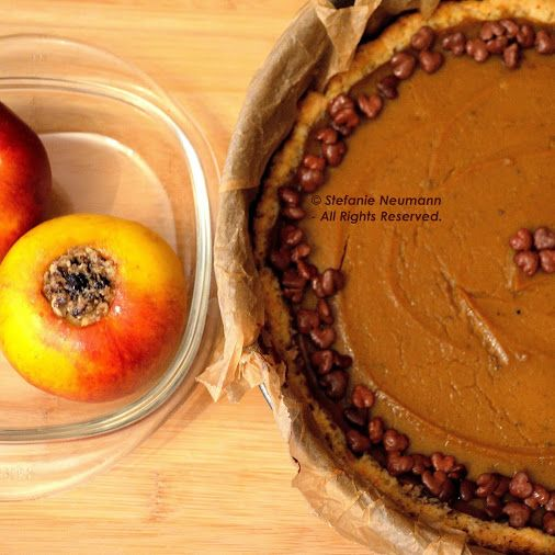 Süßkartoffel Pie & Gebackene Äpfel © Stefanie Neumann   Google+  #KBFPhotography #Herbst #GesundUndLecker #SuesseDesLebens