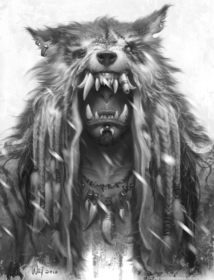 ArtStation The Art of Warcraft Film Durotan , Wei Wang