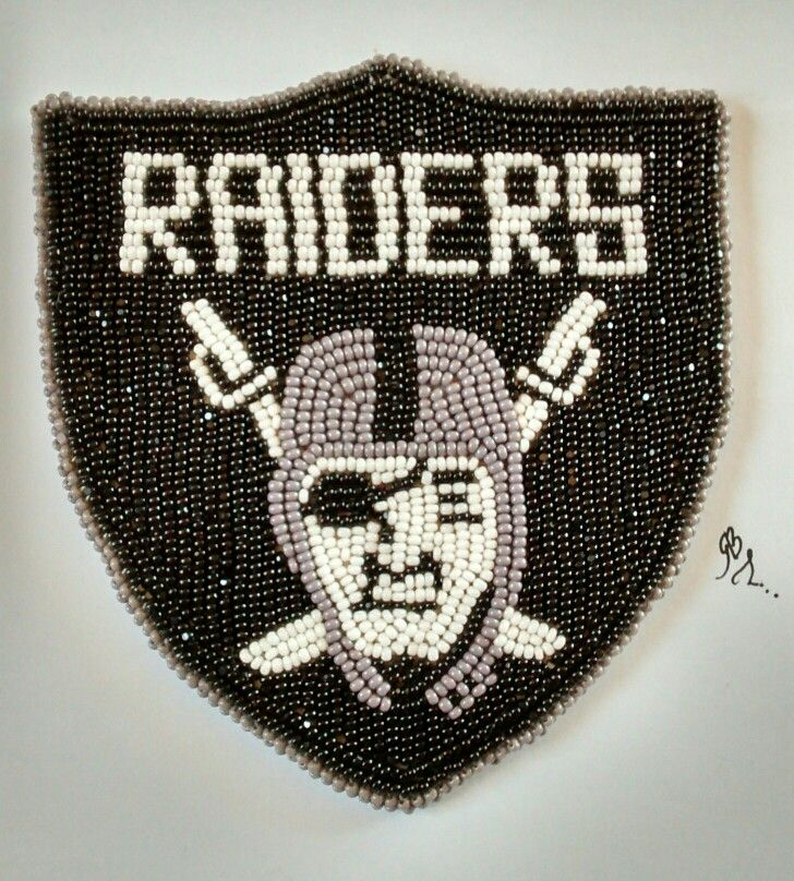 Raiders Nfl Beaded Medallion The Best Team In The World