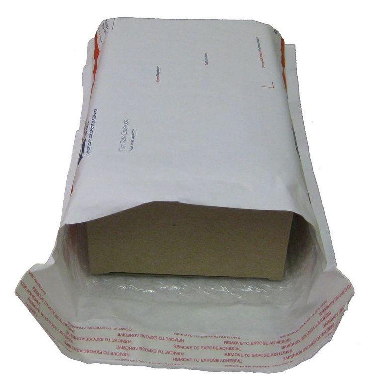 125 qty The Scotty Stuffer-Largest size box carton for Flat Rate Padded Mailer #Bubblefast #Reversetuckcarton