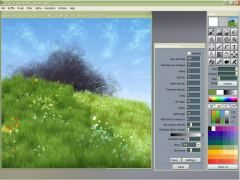 Project Dogwaffle 1.2 - the Free PC Paint and Animation Program for prople who love to draw, sketch, animate and paint: digital painting, animation, special effects, filters, plugins, frames, layers, photoshop(r) alternative, digital painter, custom brushes, starving artists