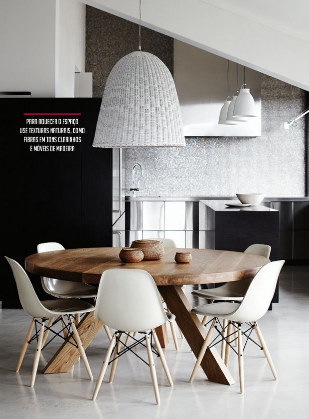 black and white dining room #decor #pretoebranco