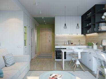 Sztuką jest urządzić funkcjonalnie i ciekawie małe mieszkanie. Ograniczenia powierzchni zmusza do bardzo wnikliwej...