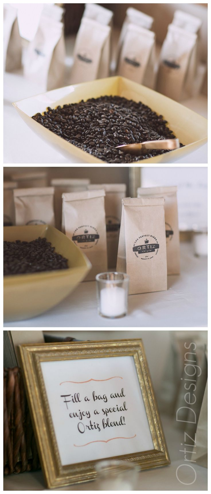 Coffee mug wedding favors - Coffe Wedding Favors The Perfect Blend Is Such A Fun Theme For A Coffee Lover S Wedding Favor I Designed A Special Logo For Our Wedding Favor And Made
