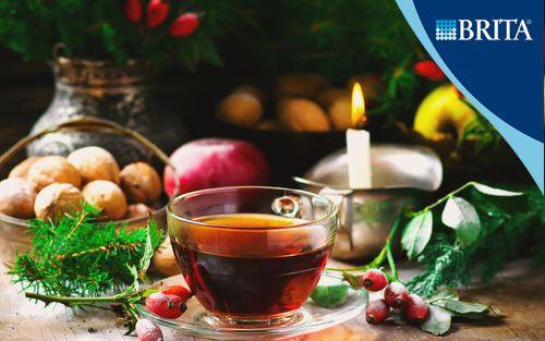 Чай из крапивы и шиповника | Кулинарные рецепты от «Едим дома!»