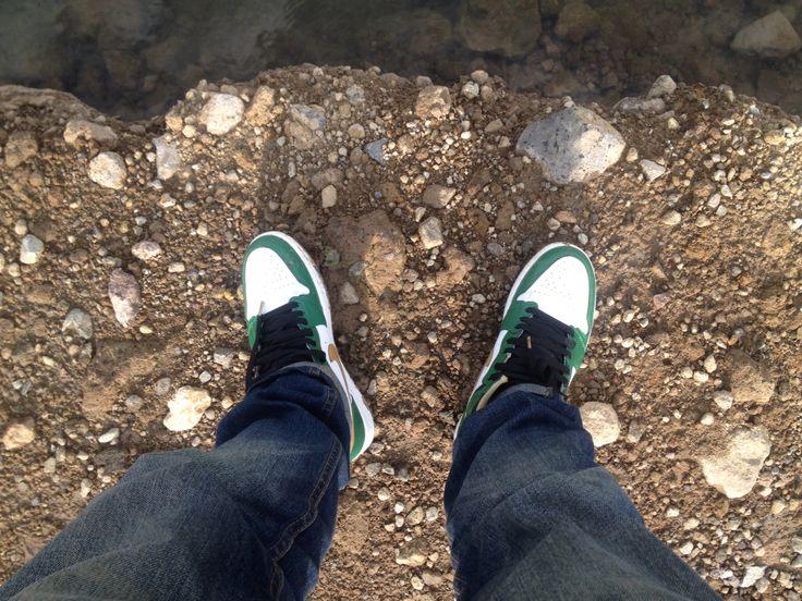Air jordan 1 og celtics