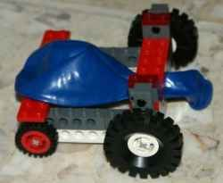 Simple Lego Car Powered by a Balloon.  Where to buy the bricks, and which ones you need.