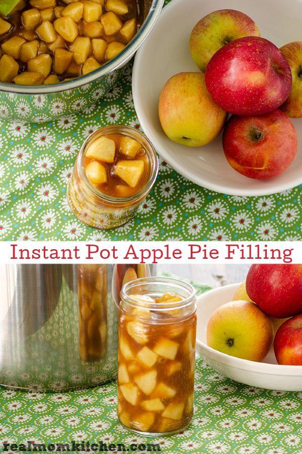 Instant Pot Apple Pie Filling Recipe Apple pies