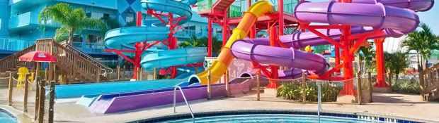 Awesome travel deals! From $56 per night, stay with Water-Park Passes at Flamingo Waterpark Resort in Kissimmee, FL or from $435, an all inclusive stay for Two in a Deluxe Ocean View Room inside the Park Royal Cozumel Resort in Cozumel, Mexico and more...