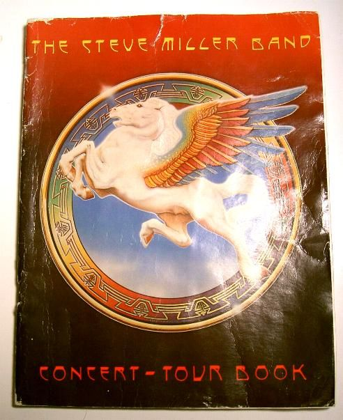 Steve Miller Band Tour Book