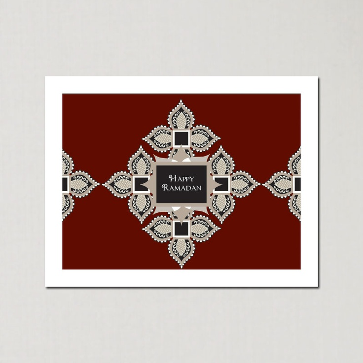 Ramadan Vintage Stars - Ramadan Greeting Cards by Soulful Moon