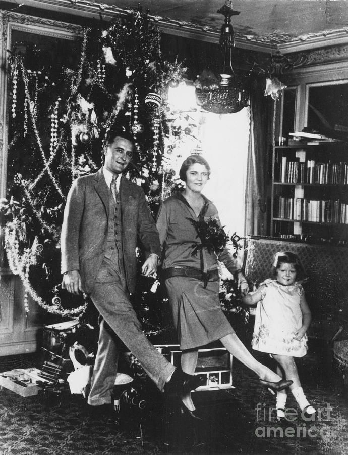 F. Scott, Zelda and Scottie Fitzgerald
