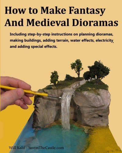 How to make a diorama waterfall