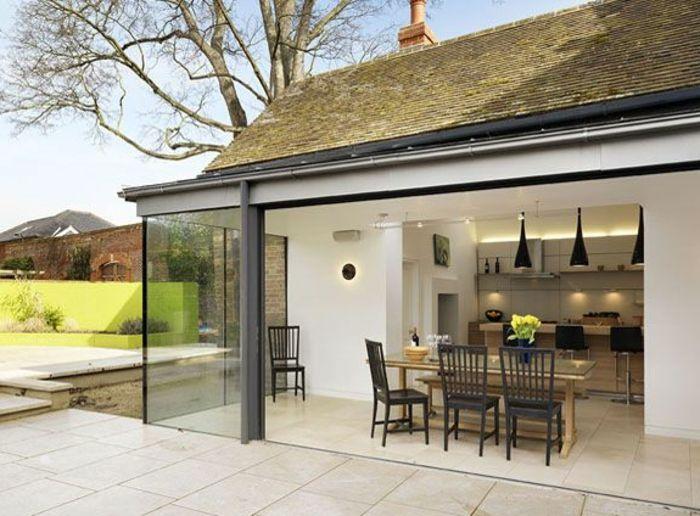 Die besten 25+ Sichtschutz terrasse glas Ideen auf Pinterest - wohnzimmer mit glaswnde
