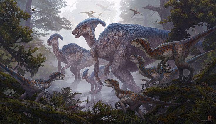 ArtStation - Raptors, Kerem Beyit