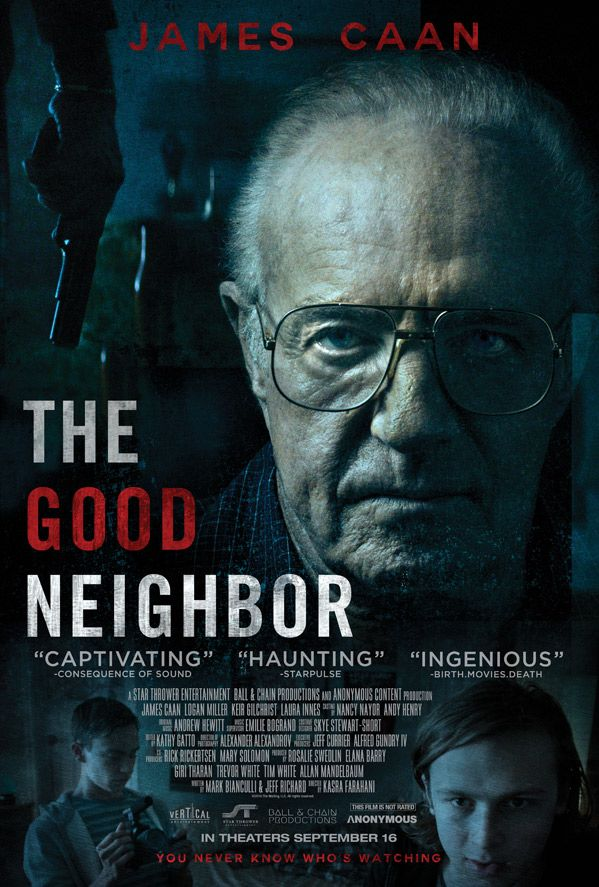 James Caan is The Good Neighbour in new trailer. Watch it here