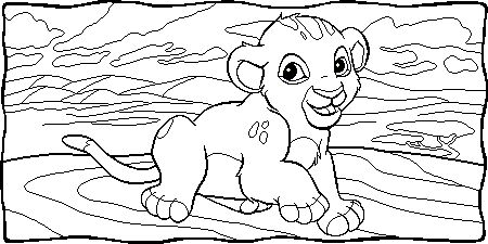 disney coloring picture 002