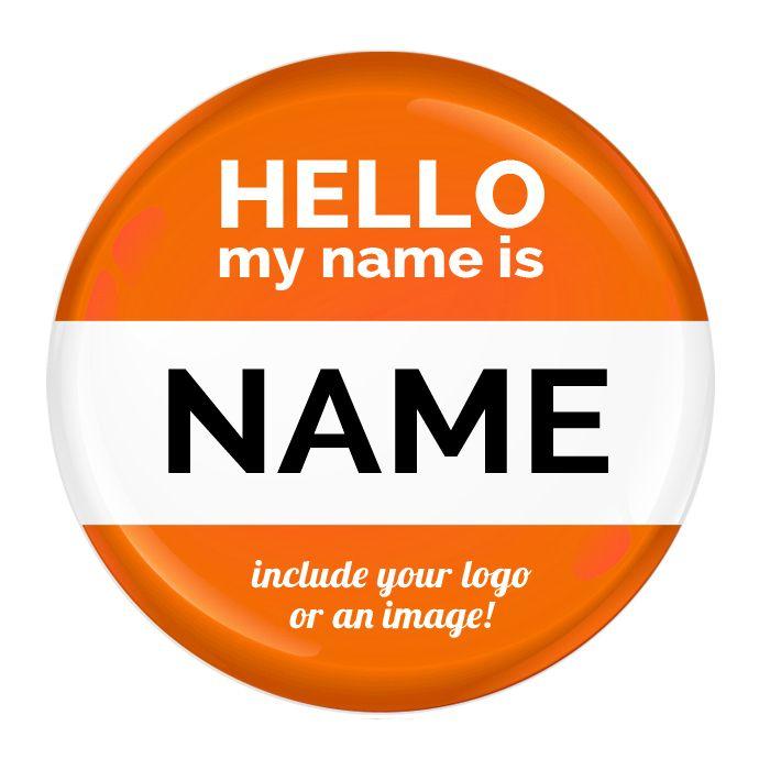 Name Badge #002 - 57mm