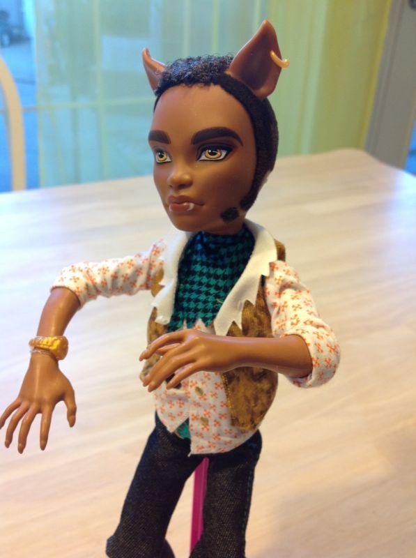 Wolf Toys For Boys : Monster high boy clawd wolf doll
