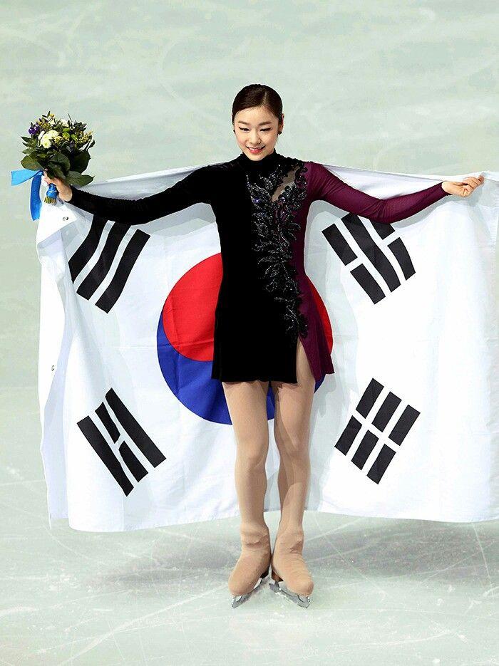 Yuna Kim from South Korea | 2014 Winter Olympic Medalist.